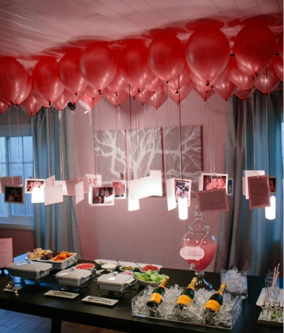Birthday Decoration Ideas   Picture Balloons