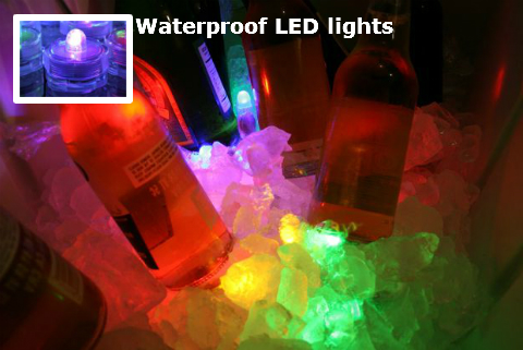 Birthday decoration ideas - Waterprrof LED lights