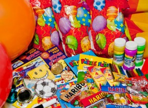 Childrens party bag fillers